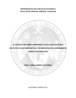 universidad de san carlos de guatemala facultad de ciencias