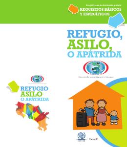 Refugio, asilo o apatridia