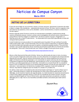 Noticias de Campus Canyon