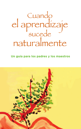 el aprendizaje naturalmente - Center for the Urban River at Beczak