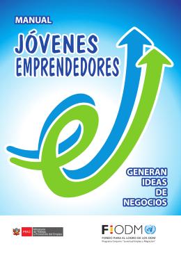 """manual """"Jóvenes Emprendedores Generan Ideas de"""