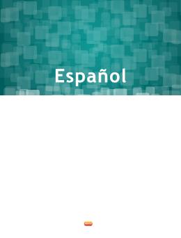 Español - Plan de estudios - Secretaría de Educación Pública