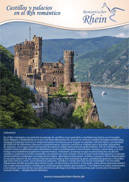 Castillos y palacios en el Rin romántico