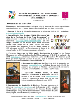 Newsletter trade - septiembre 2013
