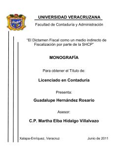 Guadalupe Hernandez Rosario - Repositorio Institucional de la