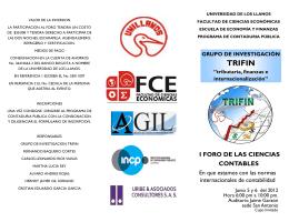 TRIFIN - Universidad de los Llanos
