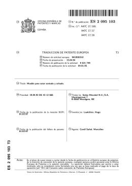 MUEBLE DE ASIENTO Y DE TUMBADO(ES2095103)