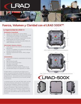 LRAD 500X PDF - Vimad Global Services