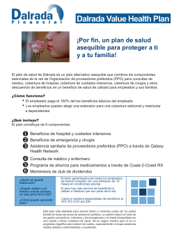 Dalrada Value Health Plan