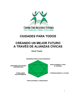 Ciudades Para Todos - The Centre for Welfare Reform