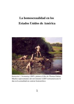 La homosexualidad en los Estados Unidos de América