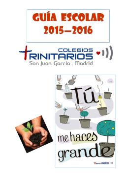Guía 2015-2016 - Colegio San Juan García