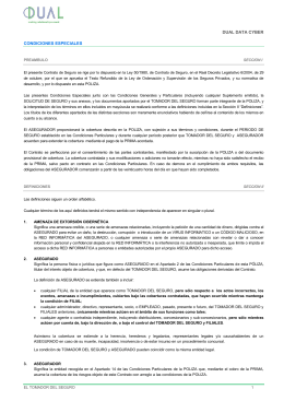 Condicionado - DUAL Iberica