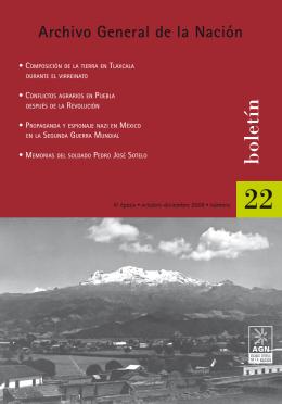portada 22 - Archivo General de la Nación