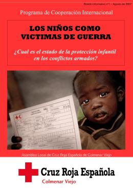 LOS NIÑOS COMO VICTIMAS DE GUERRA