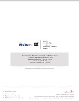 Redalyc.Instrumentos de evaluación del desarrollo motor