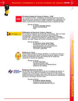 Folleto BI 2012
