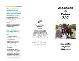 Asociación de Padres (PAC)