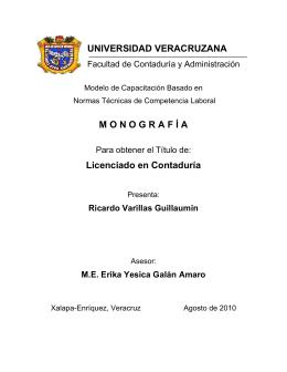 Ricardo Varillas Guillaumin - Repositorio Institucional de la