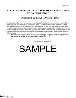 Vendedor de confidencialidad-español