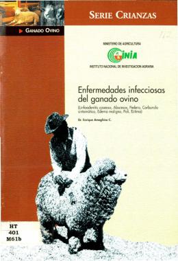 Enfermedades infecciosas del ganado ovino