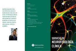 NEUROFISIOLOGÍA CLÍNICA SERvICIO dE