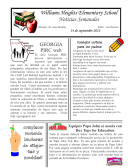 Newsletter Save for WebSpanish.pub