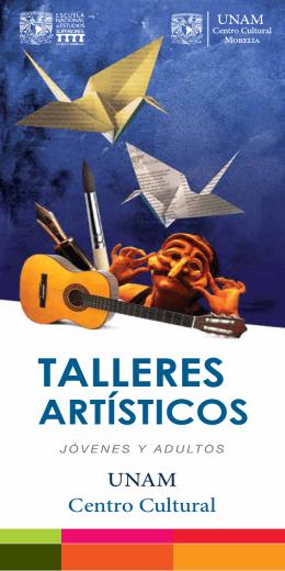 talleres artísticos - ENES Unidad Morelia