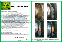 OIL DRY WASH