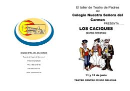 LOS CACIQUES - Colegio Ntra. Sra. del Carmen