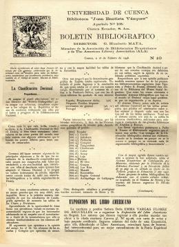 BOLETIN 1948 NO. 10(1)