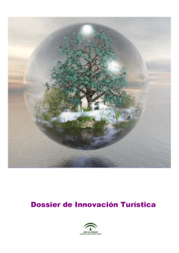 Dossier Innovación Turística