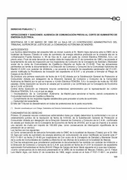 Jurisprudencia - Agencia Española de Consumo, Seguridad