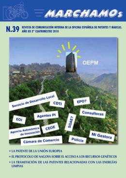 MiGestora - Oficina Española de Patentes y Marcas