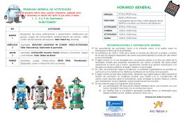 Programación orientativa PDF, 393 Kbytes