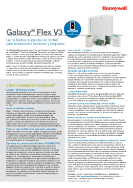 Galaxy® Flex V3 - Honeywell Security