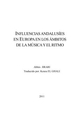 influencias andalusíes en europa en los ámbitos de la música y el