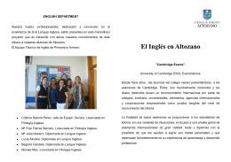 El Inglés en Altozano