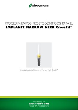 Procedimientos prostodónticos para el implante