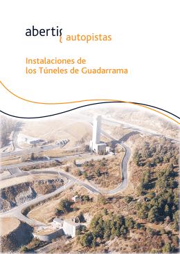 Instalaciones de los Túneles de Guadarrama