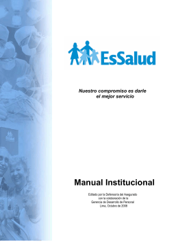 Manual Institucional