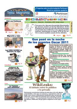 WikiLeaks: - Periodico en Suiza para latinos y españoles Terra