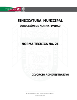 NTA-21 - Sindicatura