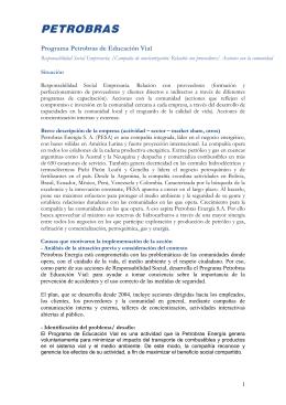 Programa Petrobras de Educación Vial