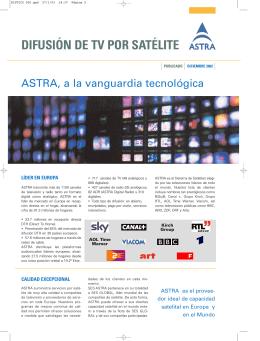 Difusión de TV por satélite