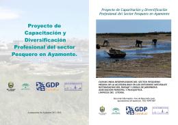 Proyecto de Capacitación y Diversificación Profesional del sector