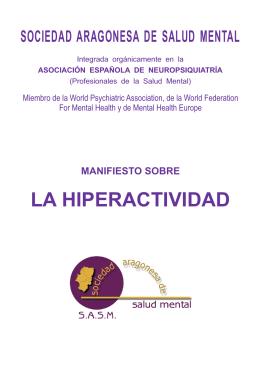Manifiesto sobre la hiperactividad_sasm