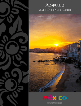 Travel Guide Acapulco - Mexico Tourism Board