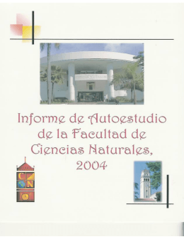 Estándar 5 - College of Natural Sciences