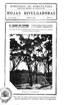 14/1934 - Ministerio de Agricultura, Alimentación y Medio Ambiente